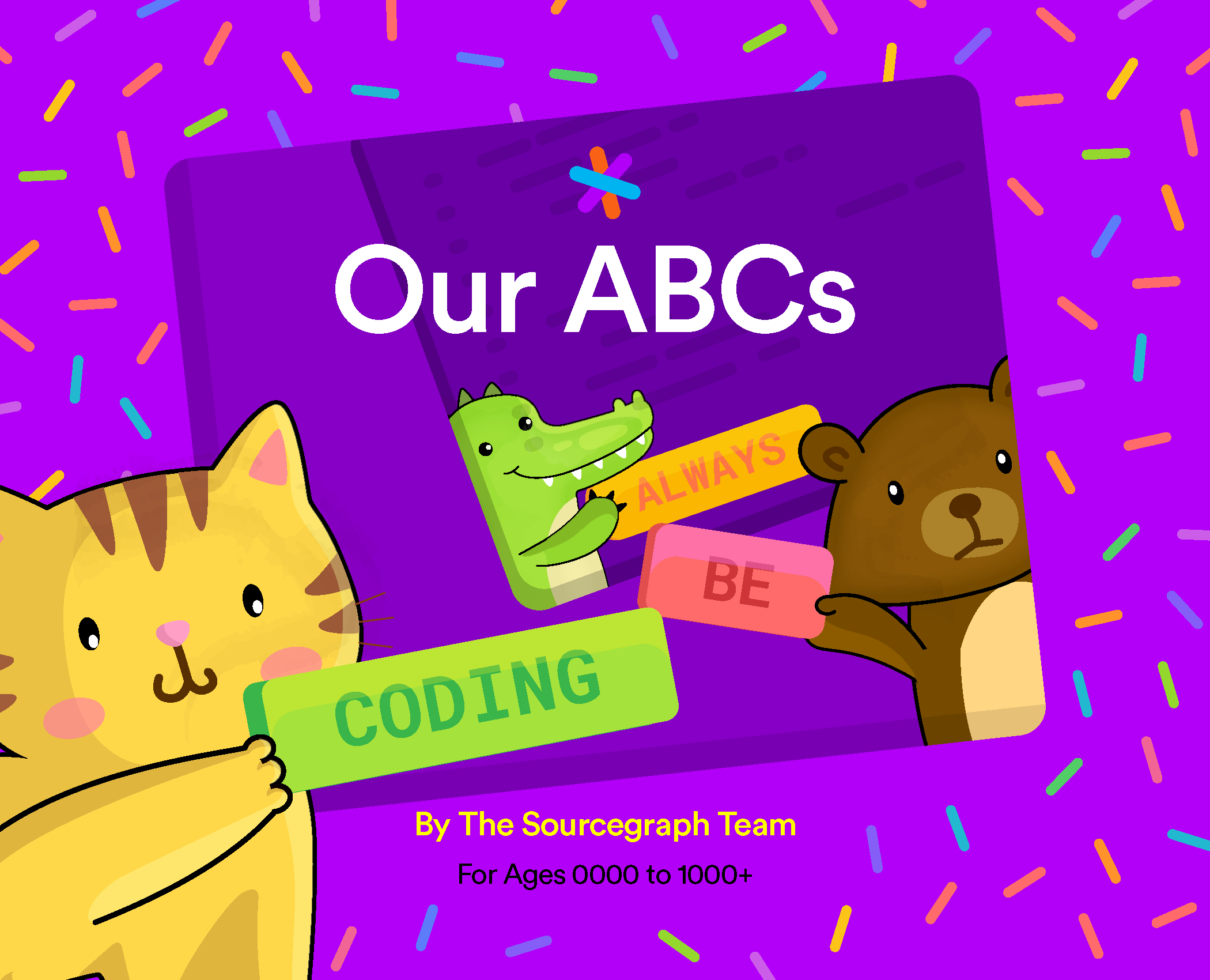 Press Release: Sourcegraph Releases Free Digital Children's Book Titled 'Our ABCs: Always Be Coding'